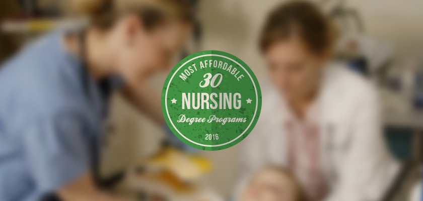Most Affordable Nursing Degree Programs Featured
