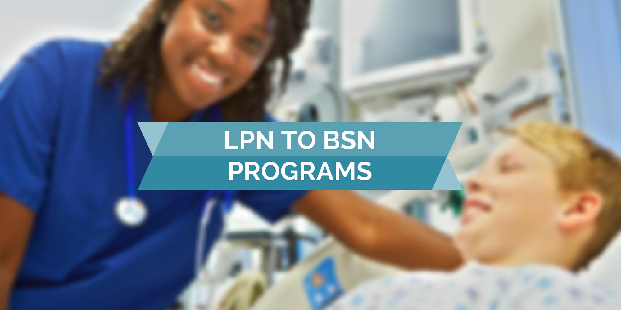 lpn to bsn programs geriatricnursing org