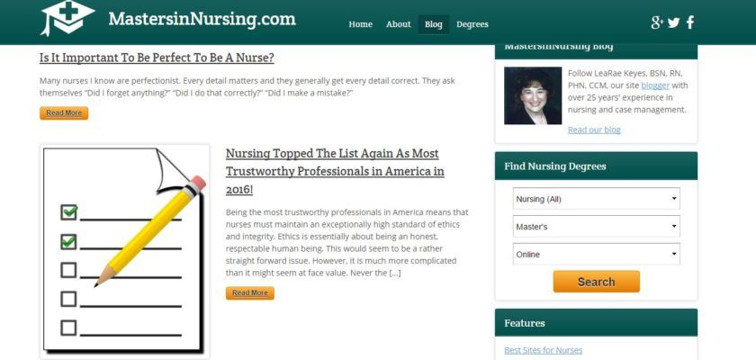 99 Best Nursing Blogs Of 2017 Geriatricnursing