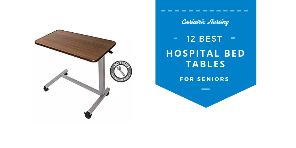 Brilliant 12 Best Hospital Overbed Bed Tables For Seniors Beutiful Home Inspiration Semekurdistantinfo
