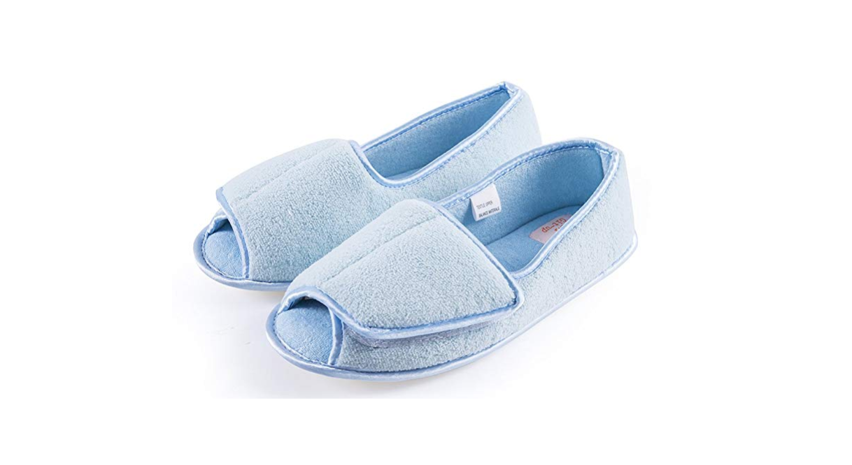 f787aa22bf4 2) Git-Up Open Toe Extra Wide Women s Slippers