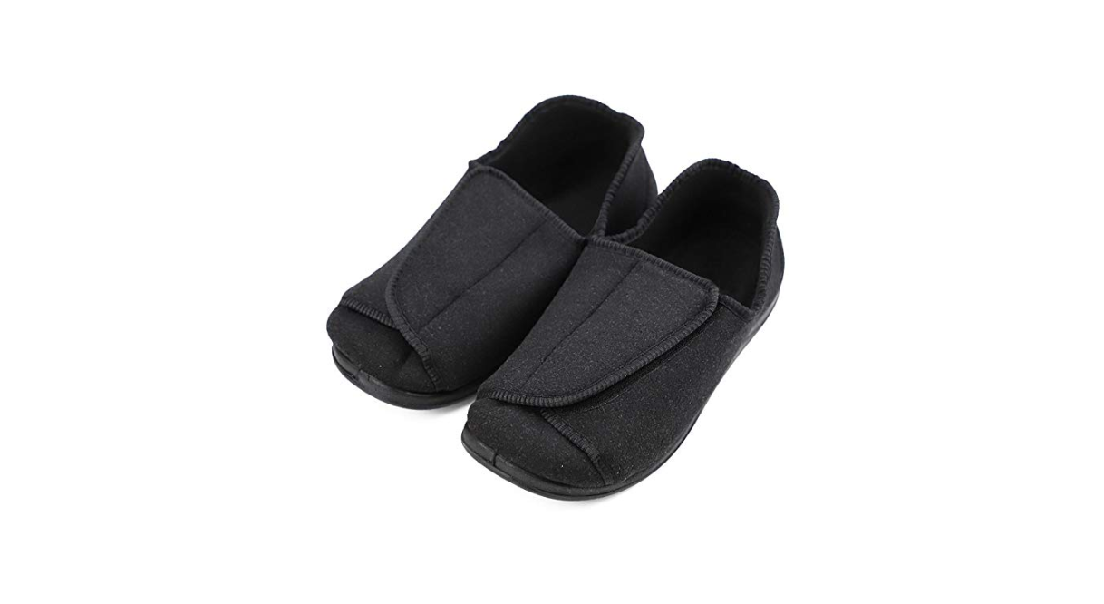 db50a253e7a 3) Secret Slippers Extra Wide Women s Diabetic Shoes