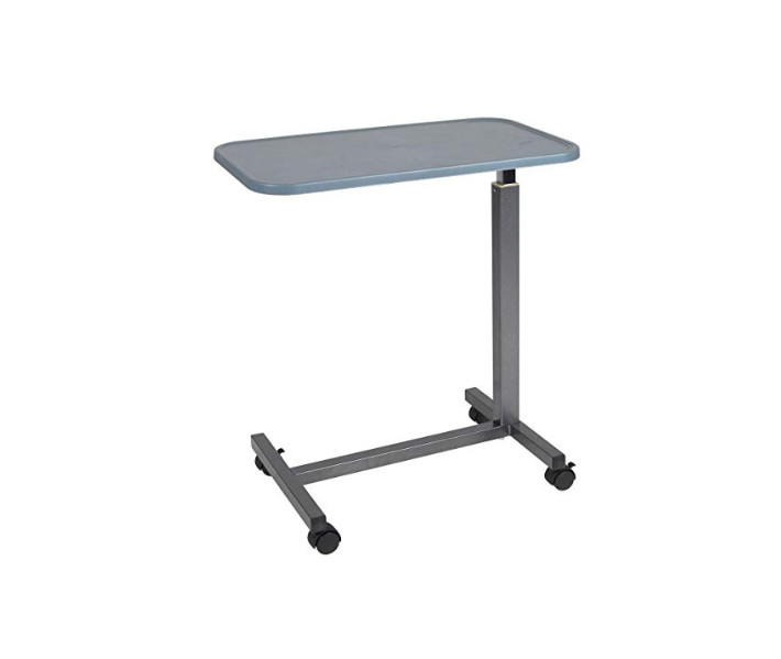 This Is A Budget Friendly Bed Table That Can Be Used Both In Hospital Setting And At Home Its Primary Feature Plastic Top Which Prevents Teardown