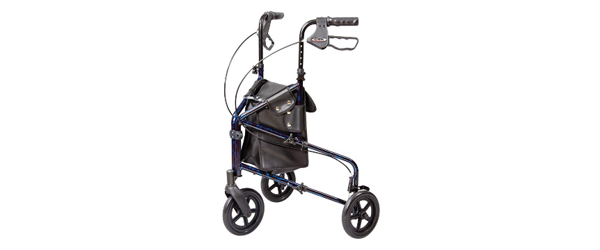 Rolling Walker With Seat Covered By Medicare Velcromag